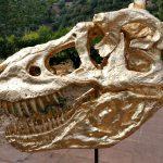 Tyrannosaurus Art Replika Gold